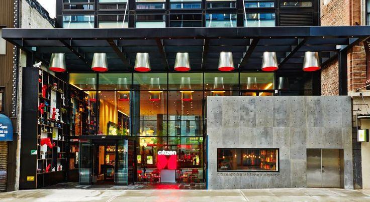 Booking.com: Szálloda citizenM New York Times Square , New York, USA - 3039 Vendégértékelések . Foglalja le szállását most!