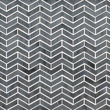 Ann Sacks Chrysalis chevron herringbone mosaic tile - comes in other colors