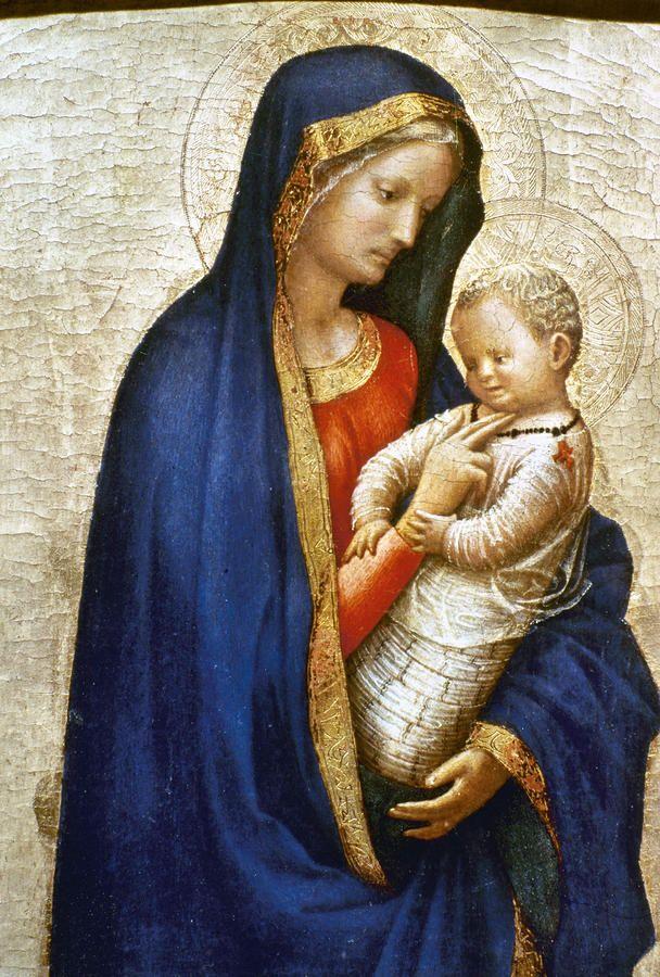 DE ARTE EM ARTE : PINTURAS DA VIRGEM MARIA E O MENINO JESUS