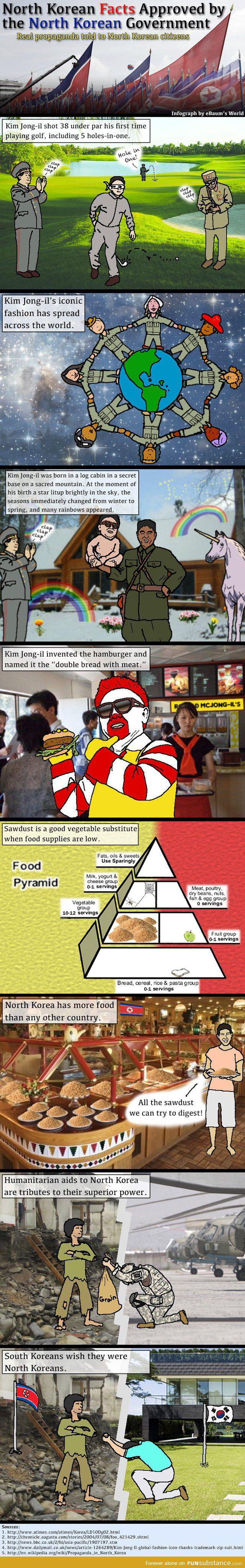 North Korea fun facts