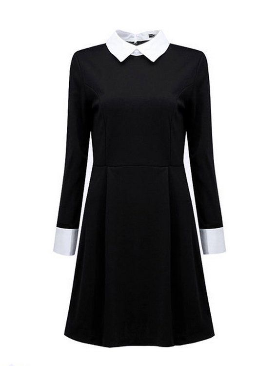 Wednesday Addams Halloween Dress costume by FrenchieYork on Etsy