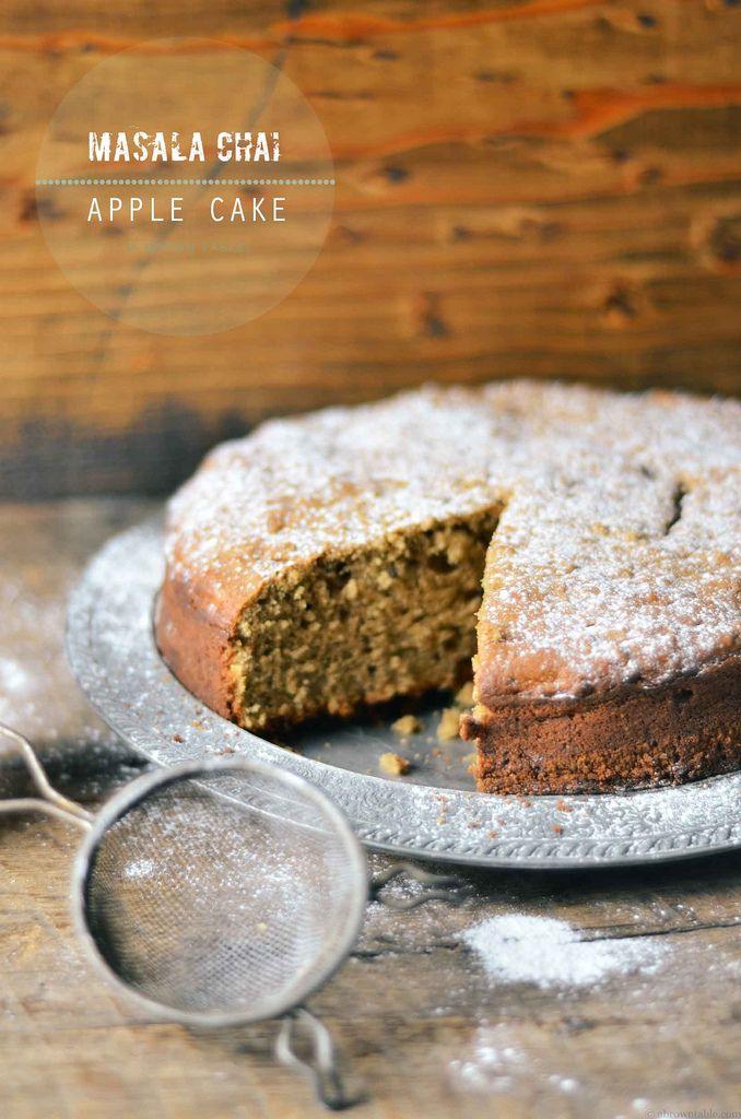 Chai apple cake