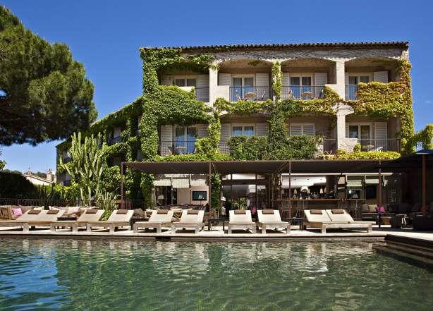 Hôtel 3 étoiles Saint-Tropez piscineavec jacuzzi