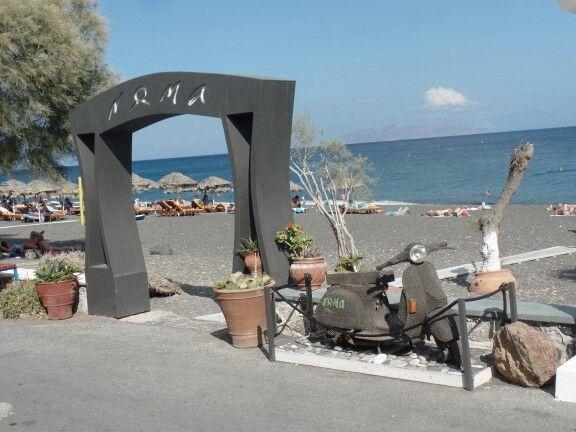 Santorini, Perissa