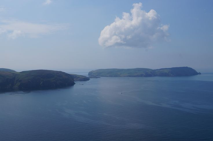 Calf of Man from Bradda Head
