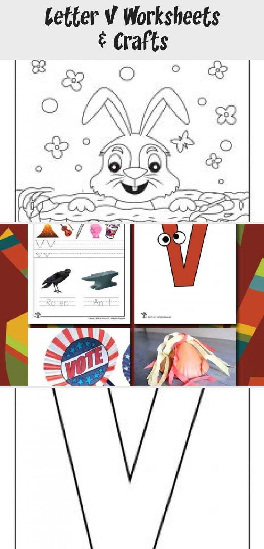 Letter V Worksheets toysworksheetPrintables