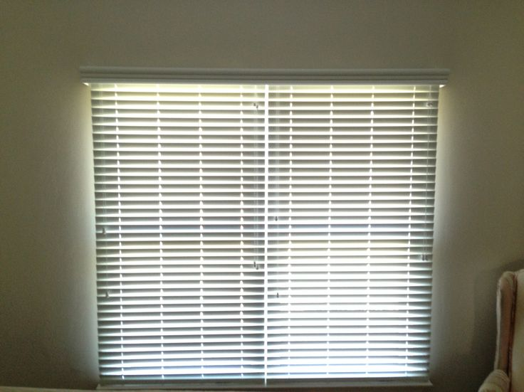Faux Wood Blinds Double Window Individual Blinds With
