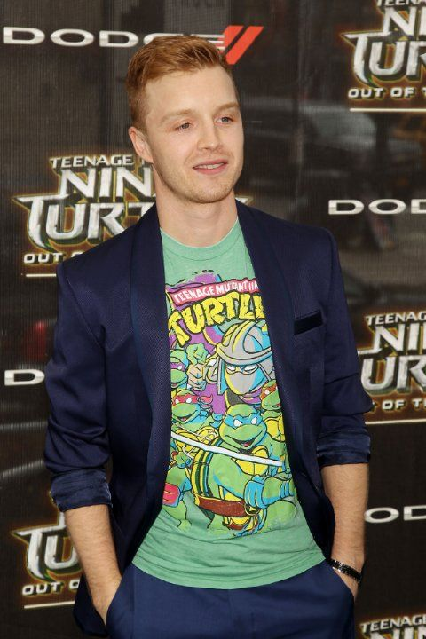 Noel Fisher at Teenage Mutant Ninja Turtles: Out of the Shadows (2016)