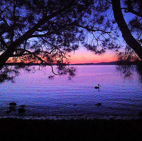 Corlette point, Port Stephens, NSW, Australia