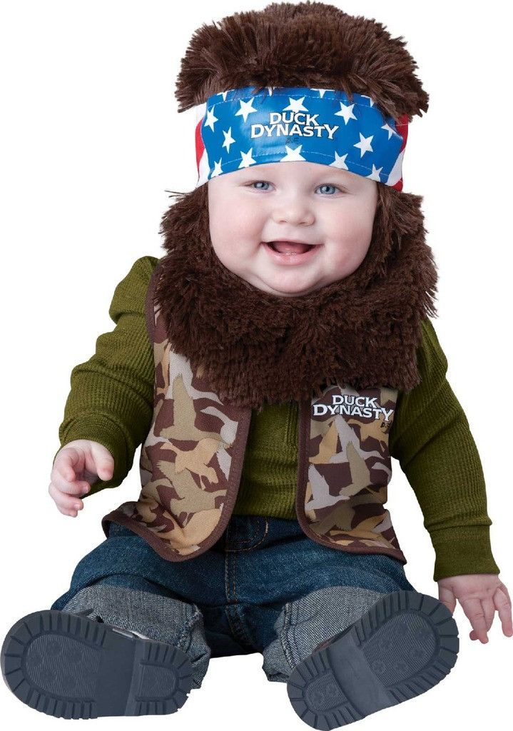 Duck Dynasty - Willie Infant/Toddler Costume Includes officially licensed vest, and hood with attached beard and hair. Weight (lbs) 0.39 Length (inches) 13 Width (inches) 11 Height(inches) 1.25