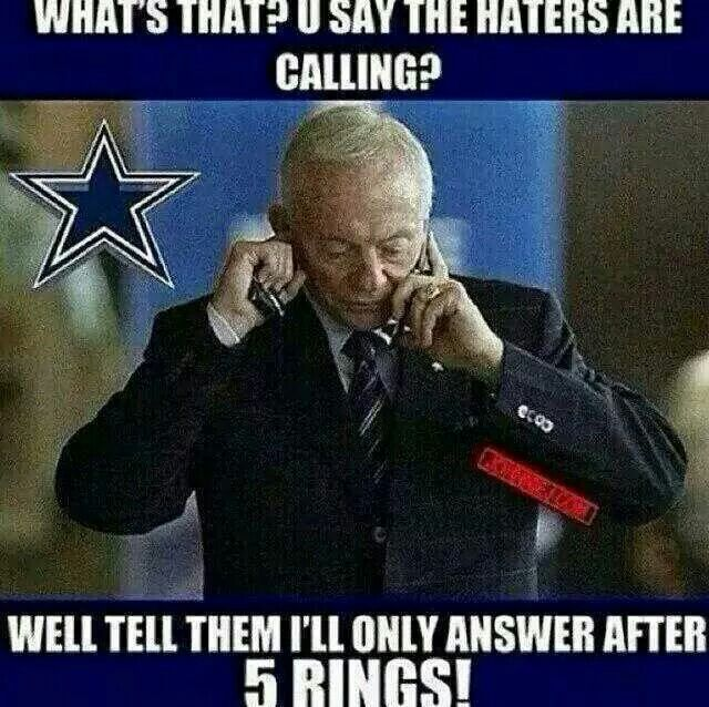 Dallas Cowboys - Five rings