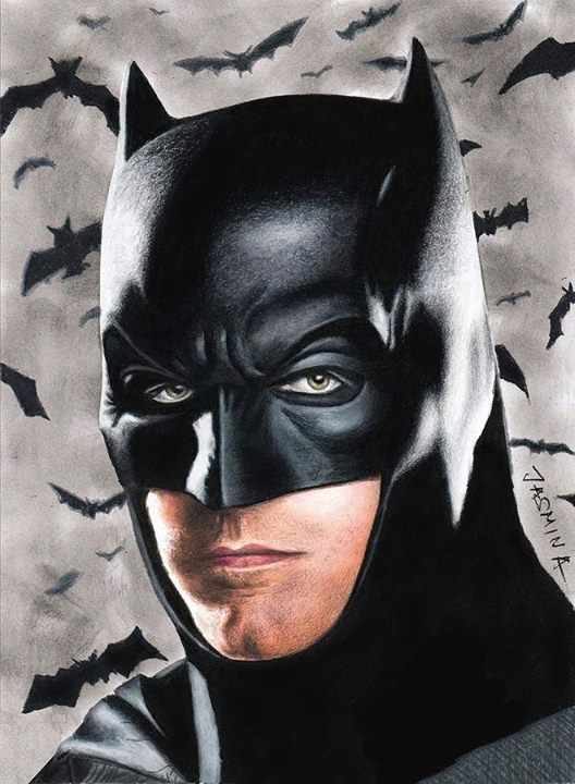 Ben Affleck's Batman! Simply stunning artwork! (Two-Face)
