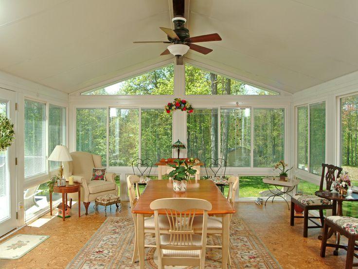 34 best hot tub encloses images on pinterest cottage for Four season porch plans