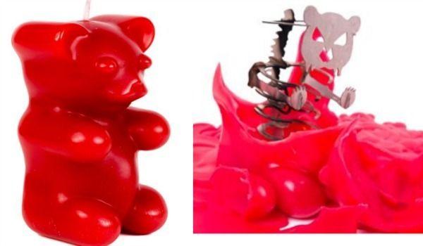 Amazon Oddities 8/25/16 -- Gummy Bear Skeleton Candle http://www.mashupmom.com/amazon-oddities-82516-gummy-bear-skeleton-candle/