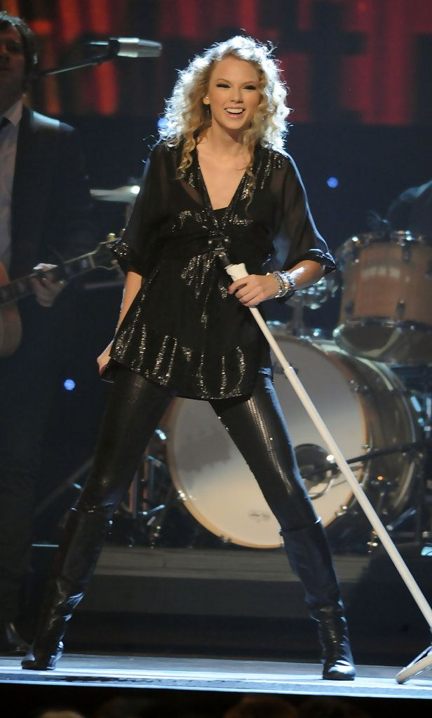 More Pics Of Taylor Swift Knee High Boots Leather