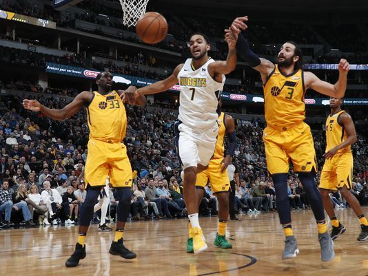 Murray scores 22 as Nuggets beat Jazz 107-83 https://www.biphoo.com/bipnews/sports/murray-scores-22-nuggets-beat-jazz-107-83.html Murray scores 22 as Nuggets beat Jazz 107-83, sports news headlines, usa today sports weekly https://www.biphoo.com/bipnews/wp-content/uploads/2017/12/Murray-scores-22-as-Nuggets-beat-Jazz-107-83.jpg
