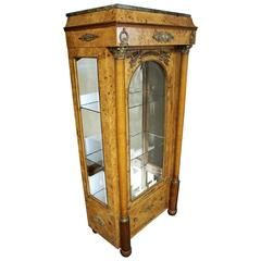 French Empire Style Vitrine or Cabinet