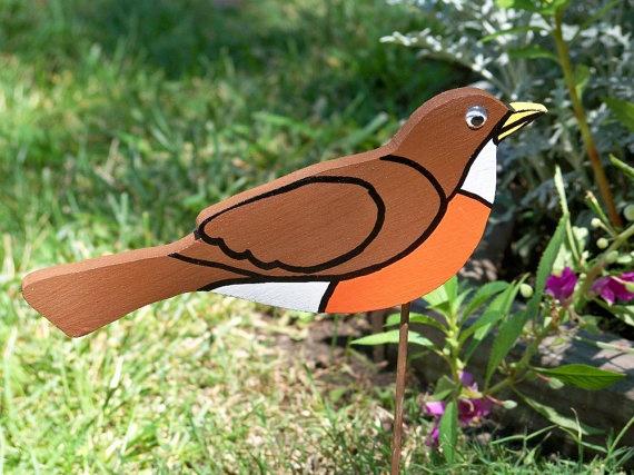 Bird Yard Ornaments