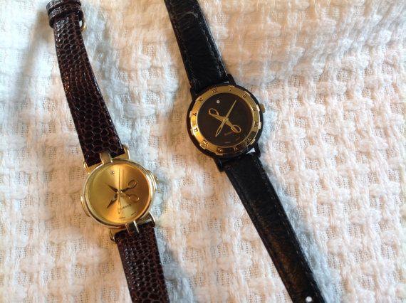 Scissor watches