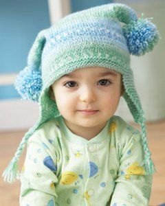 Baby Jester Hat: Hats Patterns, Free Knits, Jester Hats, Knits Patterns, Baby Jacquard, Baby Knits, Crochet Patterns, Knits Hats,  Poke Bonnets