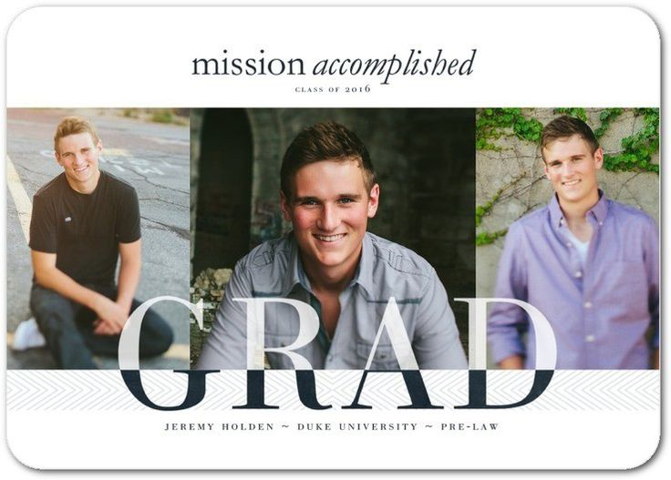 When it comes to graduation announcements, there's a multitude of options and choices to suit every budget and personality. Description from tinyprints.com. I searched for this on bing.com/images