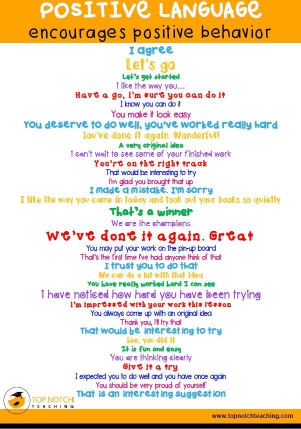 21 Classroom Management Tips and Tricks - one important thing is to always use positive language