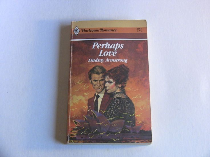 Harlequin Romance Paperback Book #2582 Perhaps Love Lindsay Armstrong 1983 1st Edition