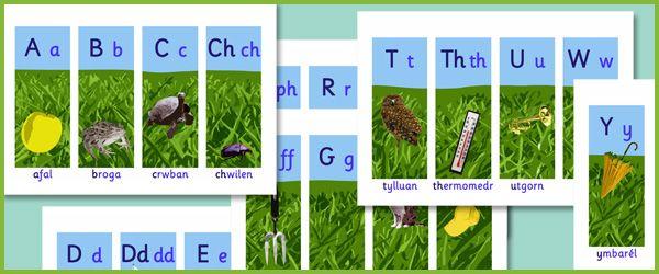 Welsh Alphabet (Yr Wyddor Gymraeg) | Free EYFS / KS1 Resources for Teachers
