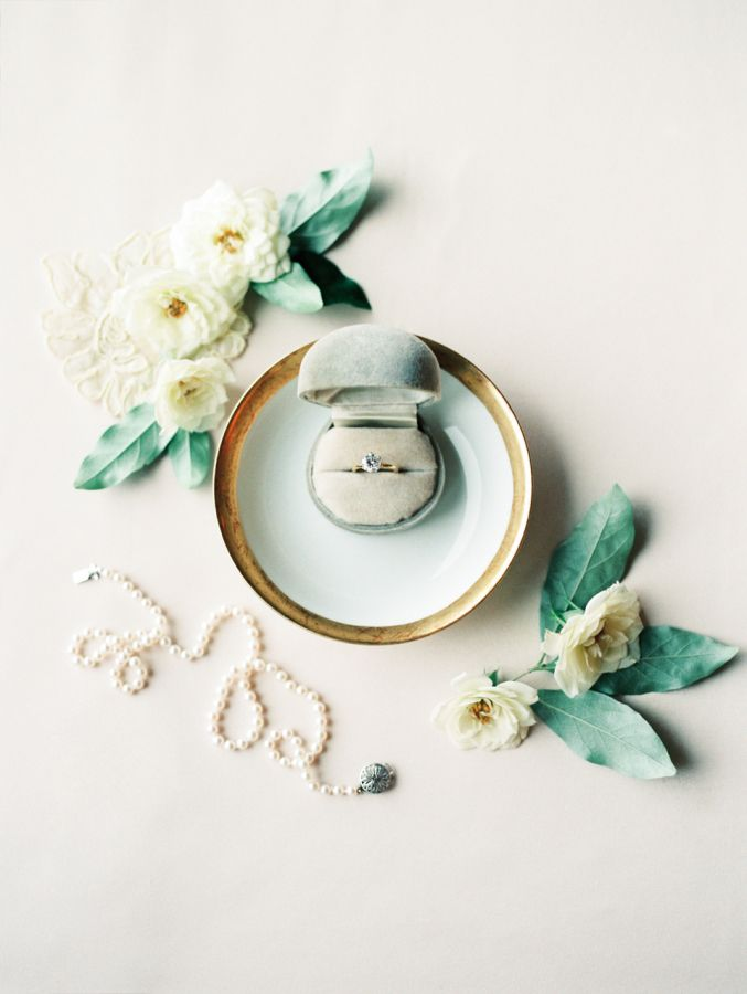 "styled wedding ring shot | image via"" style me pretty"