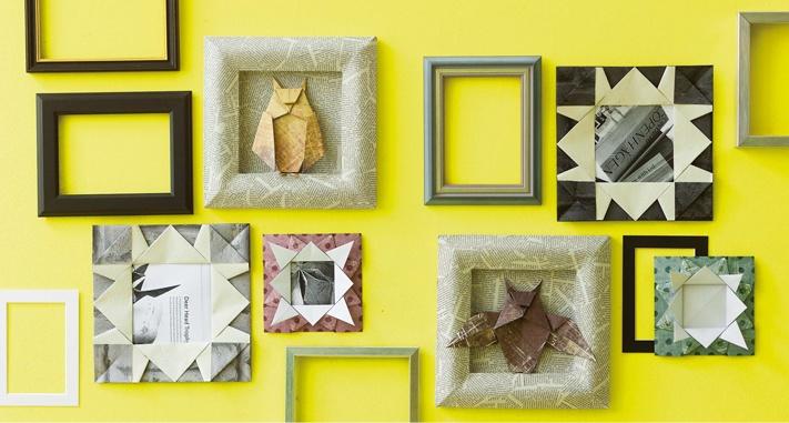 """Idee aus Armin Täubners """"Origami Wohndesign"""""""