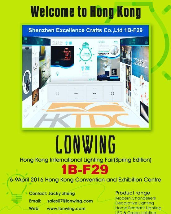 HK international lighting fair (spring edition) Fair No:1B-F29 Add:HongKong Convention and Exhibition Centre Date: April6 - 9th by designer.lighting