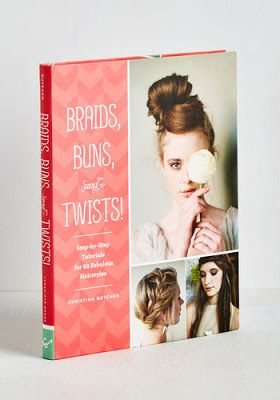 Braids, buns and twists book