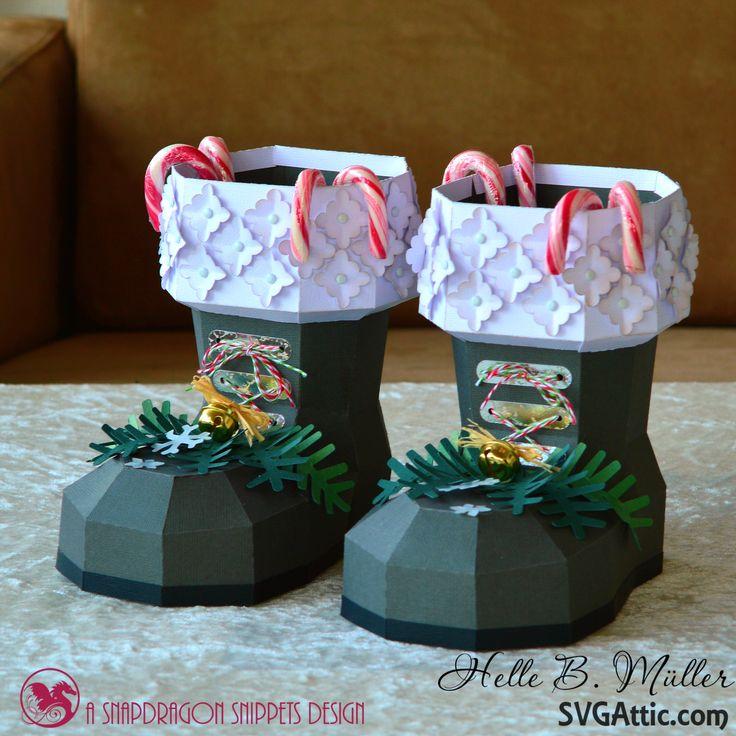 Santas Boots #svgattic