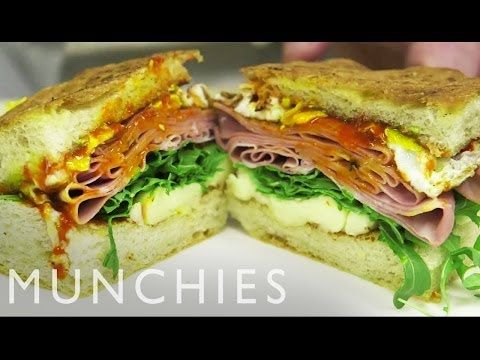 How to Mortadella Sandwich with Michael White - YouTube