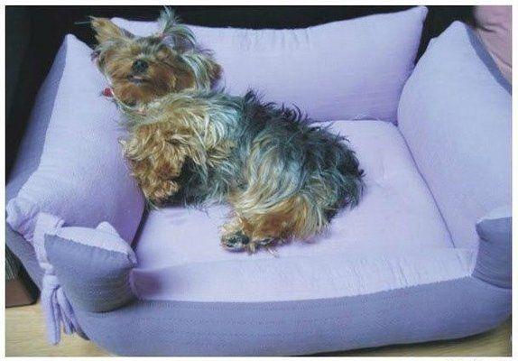 Лежанка для собаки своими руками. Выкройка | Домохозяйка
