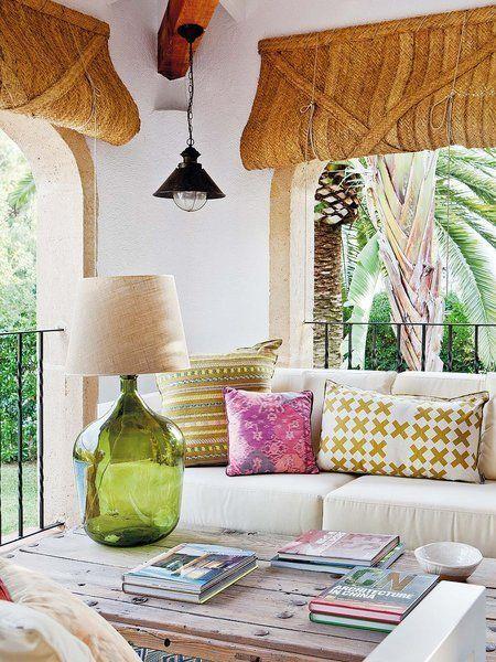 Ideas decorativas para terraza, patio o balcón