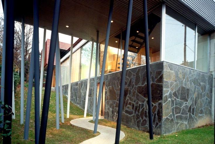 Gallery - AD Classics: Villa dall'Ava / OMA - 3 rem koolhaas structuur kolommen pad