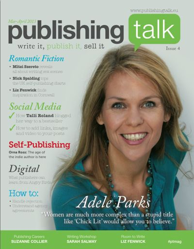 Publishing Talk Magazine issue 4 (Mar-Apr 2013) - Romantic Fiction