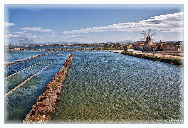 ITALY, Trapani: Riserva Naturale Orientata - Saline di Trapani e Paceco (Salt pans and museum of the salt) | Flickr - Photo Sharing!