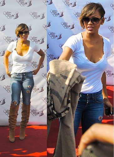 96f6a37d In 2020 Megan Good Short Hair Styles Cool