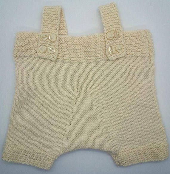 Check out this item in my Etsy shop https://www.etsy.com/listing/576918080/beige-cotton-knit-baby-jumper-shorts-0-6