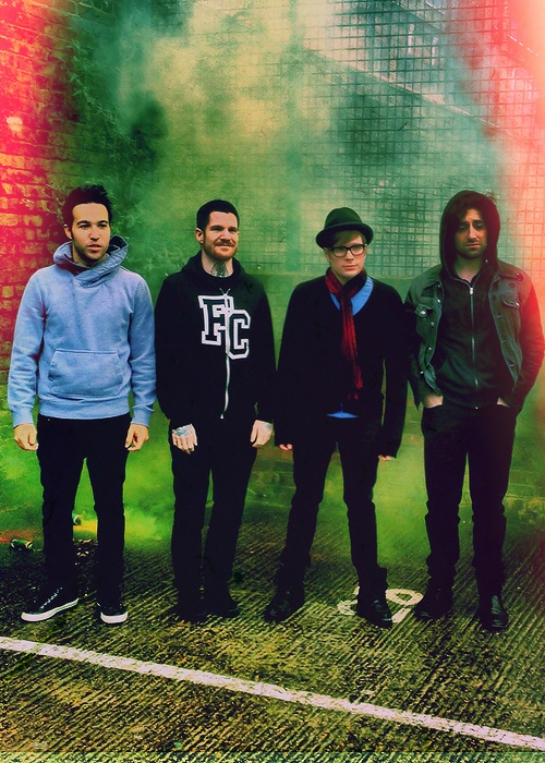 Fall Out Boy- definitely my favorite band.