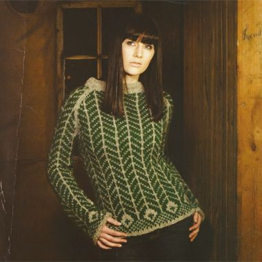 The Island Wool Company- Faroese By Design - Nordic By Nature - Herringbone Jumper