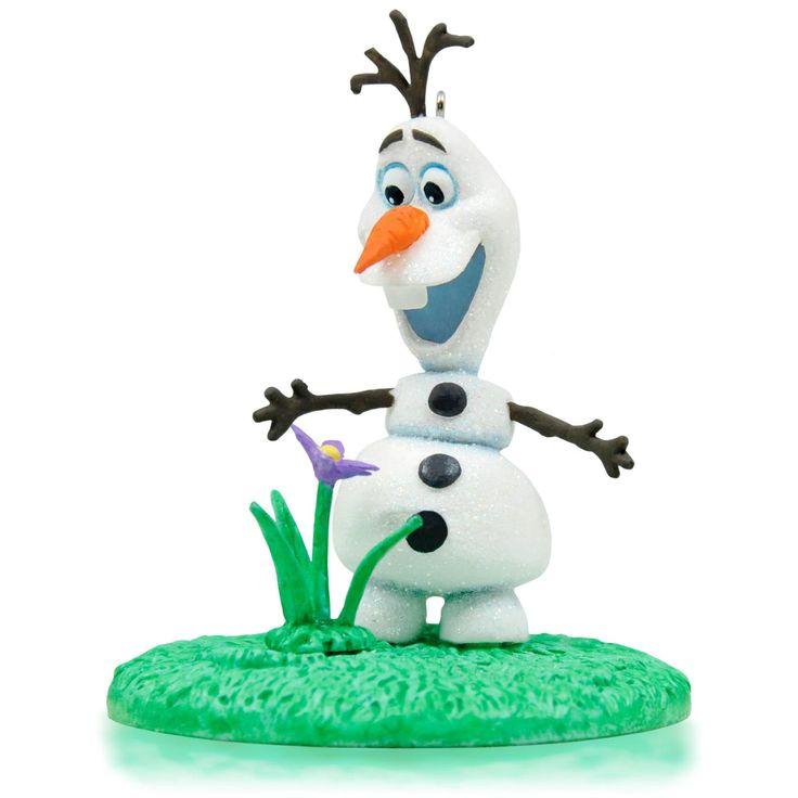 Hallmark 2015 Disney Frozen Olaf In Summer Ornament X.