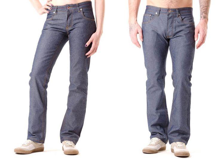 Jeans selber nähen - Gratis Schnittmuster für Damen und Herren ❤ PDF zum Ausdrucken ❤ Schnittmuster ❤ Freebook ✂ Jetzt Nähtalente.de besuchen ✂