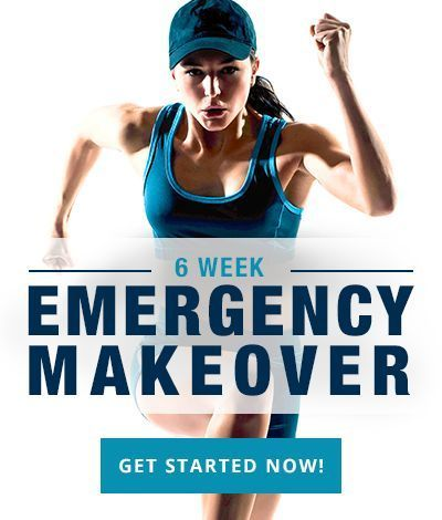 Give yourself a total body makeover in just 6 weeks! #6weekbodymakeover #totalbodytransformation