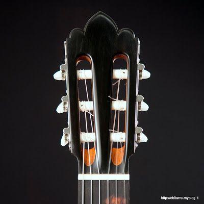 Guitarras custom construídas por Rodolfo Cucculelli, Luthier: Violão Flamenco,  escala 650 mm. Abeto Rosso Itali...