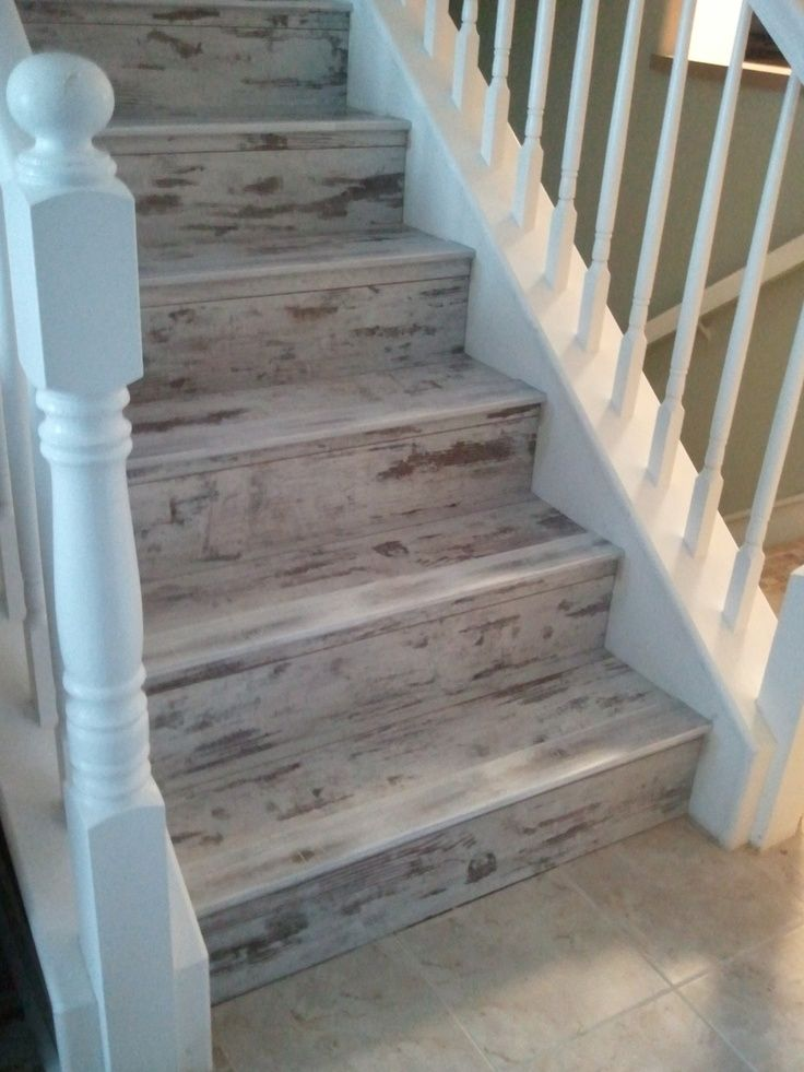 One Of Our Favorite Projects/customers. Details: Urban Loft   Whitewash By  Earthwerks. Custom Made Stair Noses To Match. Perfect For That Island Condo!