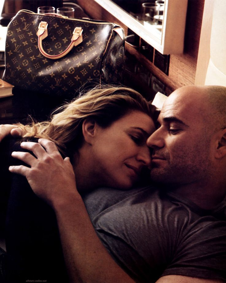 """Steffi Graf & Andre Agassi pour Louis Vuitton """"She makes me want to be better all the time."""" -Andre Agassi"""