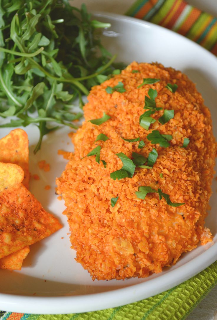 Doritos Nacho Chicken makes a delicious and quick midweek meal.
